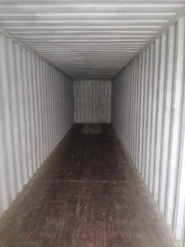 Brodski kontejner 40HC iznutra