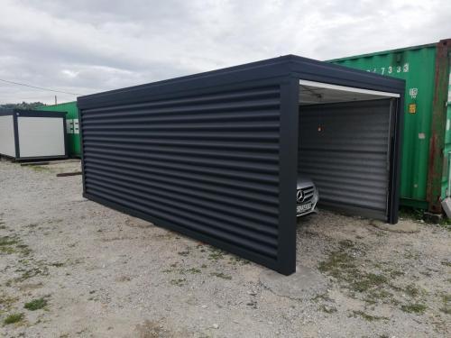 Montažna garaža za 1 auto